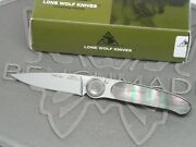 Lone Wolf Knives Paul Executive Black Lip Pearl Limited Pre-benchmade Lm23590