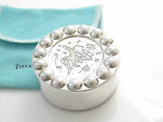 And Co Silver Rare Picasso Fairy Princess Pill Tooth Box Case Container