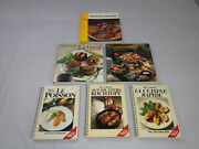 Vintage Book Lot 6 Swiss And German Cookbooks French 1980's Betty Bossi Silva