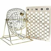 Jumbo Professional Brass Ping Pong Ball Bingo Cage Sports Andamp Outdoors Sets