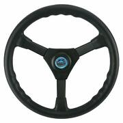 Weatherproof 13.5 Boat Soft-grip Steering Wheel With Cap Yamaha Outboard Us