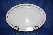 Serving Platter - Micheal Leson Designs - 11 Inches Long X 8 1/2 Inches Wide