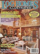 Lh053 Log Homes Illustrated Volume 3 Issue 3 July/august 1995