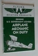 Flying A Porcelain Sign Aviation Products Ande Rooney