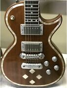 Zemaitis By Greco Gz 501 Made In Japan Diamond Brown Electric Guitar + Hard Case