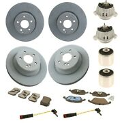 Custom Kit For Mercedes Front And Rear Brake Rotors And Pads And Engine Mounts Kit