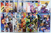 Justice League Of America 11-29 2017 Dc Vf/nm To Nm- Variant And Annual 1
