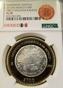 2013 Mexico S100p 1887 Chihuahua 8 Reales Ngc Pl 70 Silver Core Perfection Pop 4