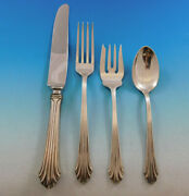 Homewood By Stieff Sterling Silver Flatware Set For 12 Service 48 Pieces