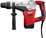 Milwaukee Sds-max Rotary Hammer 1-9/16 In. 10.5a Side Handle Keyless Chuck Case