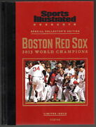 Sports Illustrated Boston Red Sox 2013 World Series Champions Hard Cover Nr/mt