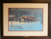 When Bankers Wore Boots G.harvey Print Signed 885/1000