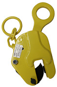 V-lift Industrial Vertical Plate Lifting Clamp With Lock Steel 2204 Lbs Wll