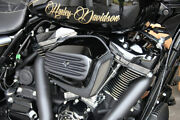 Ribbed Air Cleaner Filter Cover 17+ Harley Touring Trike Street Road King Glide