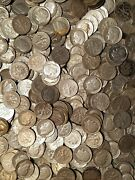 10 .10 1946-1964 Roosevelt Dime Avg Circulated 90 Silver Lot All Different