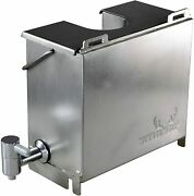 Water Tank For Medium Size Outdoor Wood Burning Stove Portable Stainless Steel