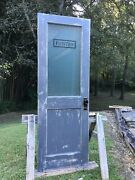Custom Pantry Door Free Us Shipping Vintage Kitchen Laundry Frosted Glass