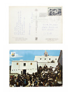 Rare Brian Eno Signed Postcard With Untitled Poem / Roxy Music Ambient Glam