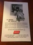 1958 Vintage Print Ad America Fore Loyalty Insurance Group Champion Pedal Car