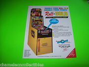 Roll For Gold By Benchmark Original Redemption Arcade Game Sales Flyer Brochure