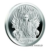 2017 1 Oz Proof Death Of The Dollar 1 Winter Is Here - Putin - Silver Shield