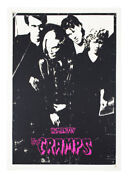The Cramps / Human Fly Rare Punk Psychobilly Poster 1978