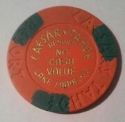 1980s Caesars Casino Lake Tahoe, Nevada No Cash Value Chip Great For Collection