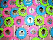 30 Ct Doc Mcstuffins Cupcake Toppers Birthday Party Favors, Baby Shower 30ct