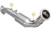 Magnaflow 5411062 Direct-fit Catalytic Converter For 08-10 Bmw 535i D/s Rear Ca