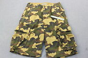 Charles And A Half Mens Military Camouflage Camo Ripstop Cargo Shorts Nwt 32 30 28