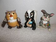 Disney Bambi Friends Cake Topper Or Toy Figures