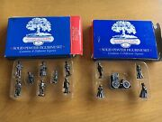 Lot Of 2 Harmony Grove Collection Solid Pewter Victorian Figurines 5 + 8