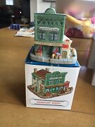 Harmony Grove 1993 Miniature Village Greenfront Grocery