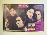 The Kinks Poster Band Shot Looking State Old