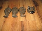 Antique 1940s Seeburg Shoot The Bear Arcade Game Coin Operated Bear Parts Only