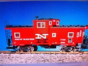 Usa Trains G Scale 12107 New Haven Extended Vision Caboose Socony Red/black