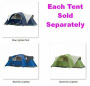 Elite Montana 8 Person Tent Hinged Door Multi-colored 16and039l X 7and039w X6and039 High-center
