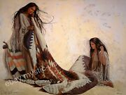 Penni Anne Cross Quilt Makers - Canvas S/n Native American Art