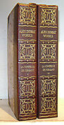 Le Comtesse De Charny, Alexander Dumas, 2 Volumes Leather, Illustrated