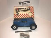 Cameron Rodzy Tether Car .15 Engine 1940and039s To 1950and039s Vintage New Old Stock