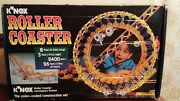 Building Game K'nex Roller Coaster 1995 Toy Connect Missing Carandinstructions