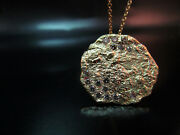 Gold Diamonds Necklace. Necklace For Women. Necklace For Men. 14k Yellow Gold.