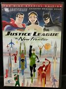 Used Justice League The New Frontier Two-disc Special Edition Dvd Dc Comics M2-n