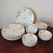 Pink Rose / Made In Occupied Japan China Service For 6 / 24 Pieces