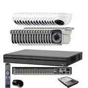 32ch 6mp H.265 All-in-1 Dvr 2.6mp 4-in-1 2.8-12mm Lens Security Camera System Bv