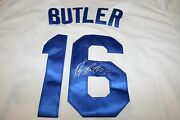 Billy Butler Autographed Auto Signed Kansas City Royals Jersey White Coa