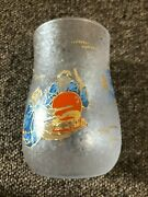 Aderia Glassware Lucky Animals Craft Beer Glass Monkey 280ml 6779 Made In Japan
