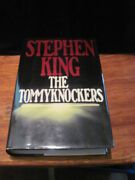 The Tommyknockers By Stephen King Hc First 1st Like New Hardcover Signed 1987