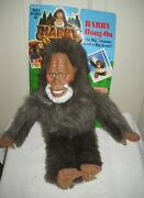 9974 Rare Noc Vintage Galoob Harry And The Hendersons - Harry Hang On Plush