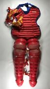 Vintage Montreal Expos Game Used Catchers Gear Equipment